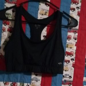 Other - Sports bra it's black pullover nonzipper no button